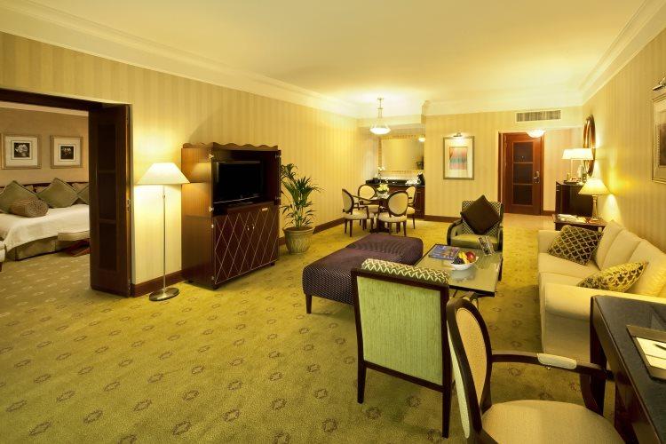 Jood Palace Dubaï - Suite Ambassador - Salon