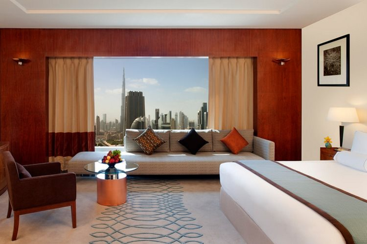 Jumeirah Emirates Towers - Chambre Deluxe King