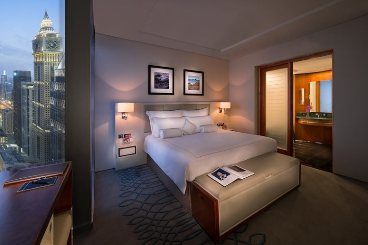 Jumeirah Emirates Towers - Club Junior Suite - Chambre