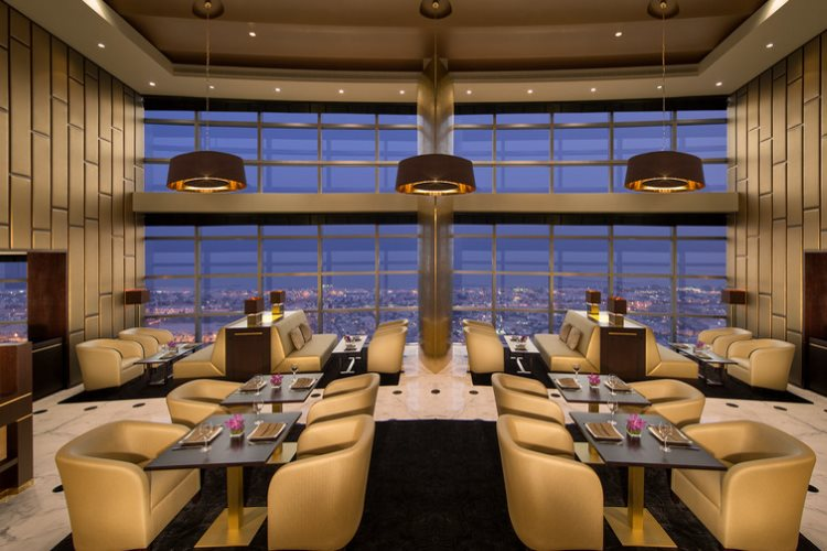 Jumeirah Emirates Towers - Salon Club Executive en soirée