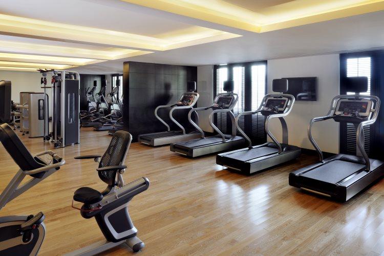 Marriott Al Jaddaf - Salle de gym