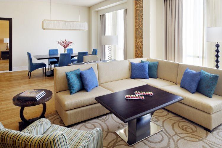 Marriott Al Jaddaf - Suite Exécutive - Chambre