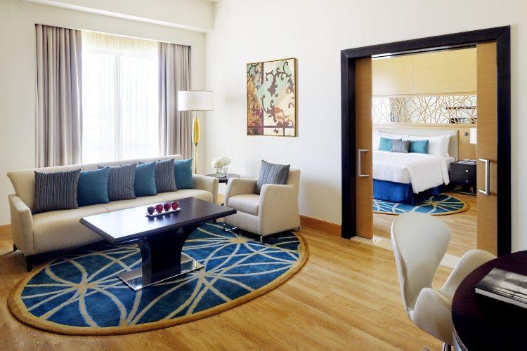 Marriott Al Jaddaf - Suite Exécutive - Salon