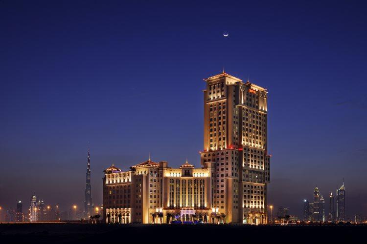 Marriott Al Jaddaf - Vue de nuit