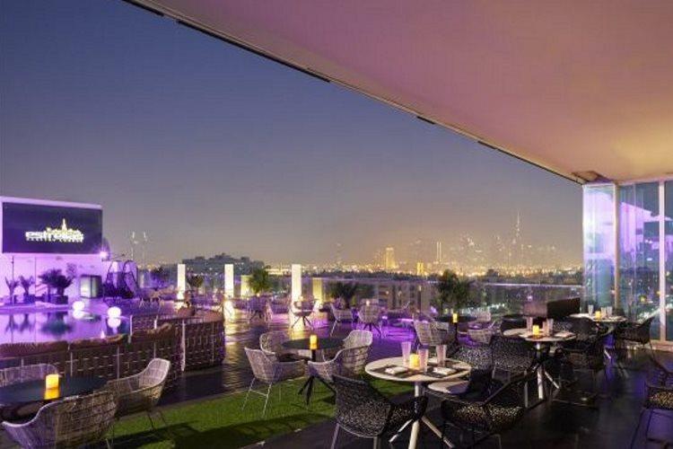Meliá Dubaï - Bar Lounge Estrellas