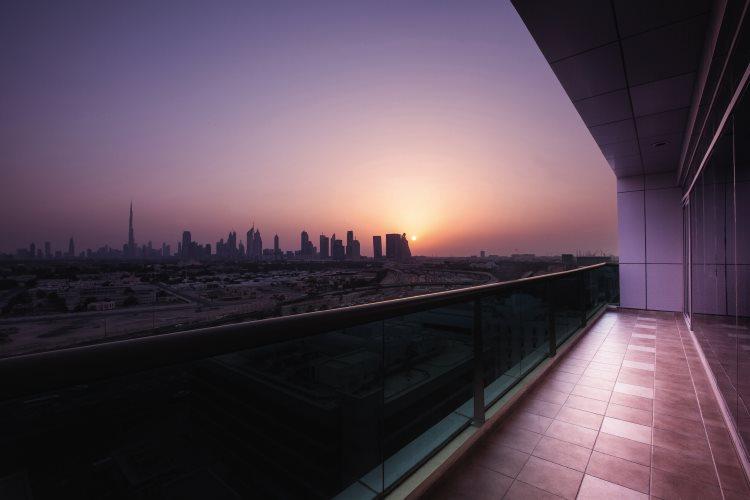Mövenpick Hôtel Bur Dubaï - Vue depuis un appartement