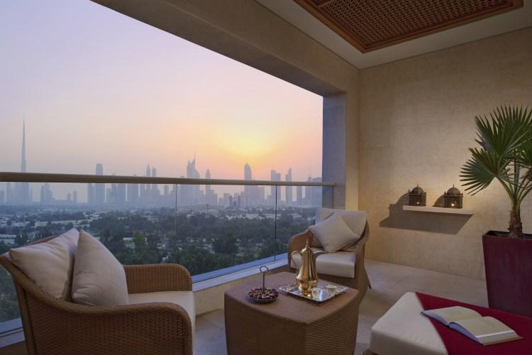 Raffles Dubaï - Chambre Signature - Terrasse