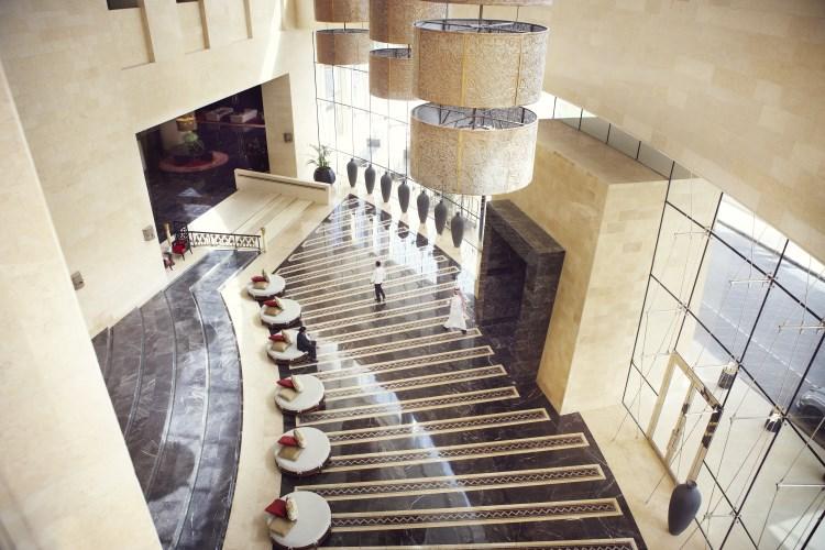Raffles Dubaï - Décor du Lobby