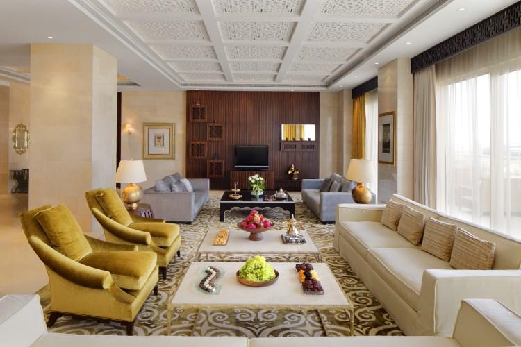 Raffles Dubaï - Suite Ambassadeur - Salon