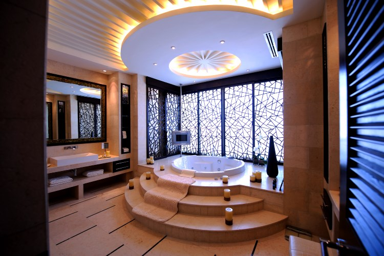 Raffles Dubaï - Suite Présidentielle - Salle de bains