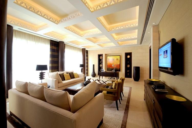 Raffles Dubaï - Suite Présidentielle - Salon