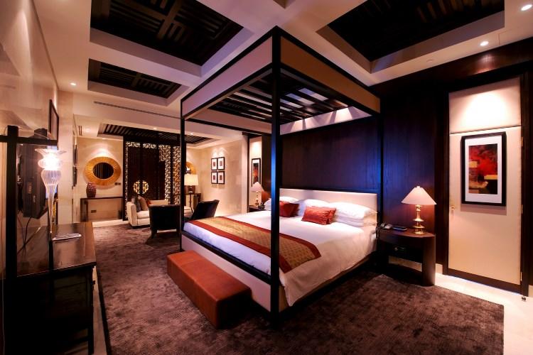 Raffles Dubaï - Suite Royale - Chambre