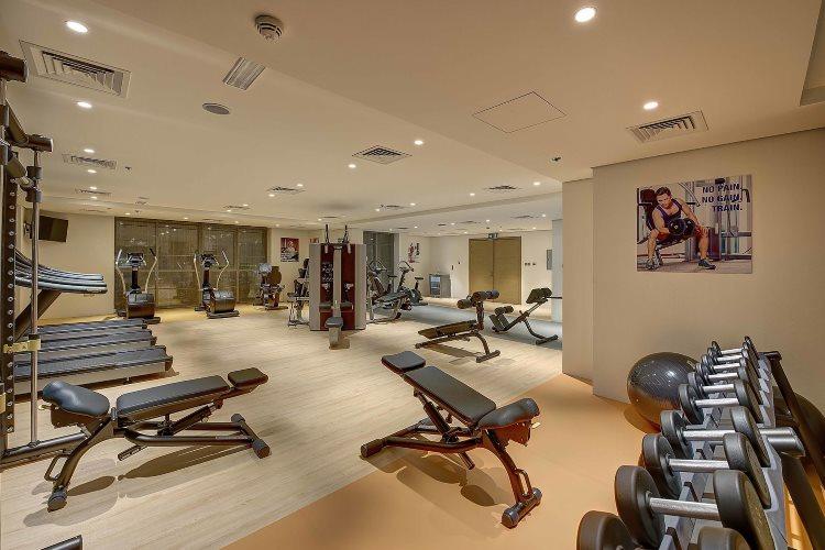 Royal Continental Dubaï - Salle de gym
