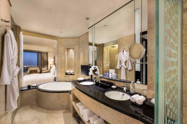 Conrad Dubaï - Chambre Deluxe - Salle de bains