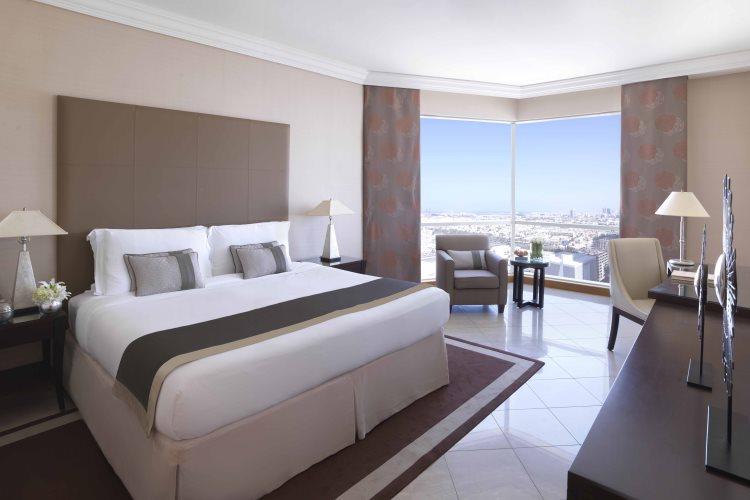 Fairmont Dubaï - Chambre avec vue