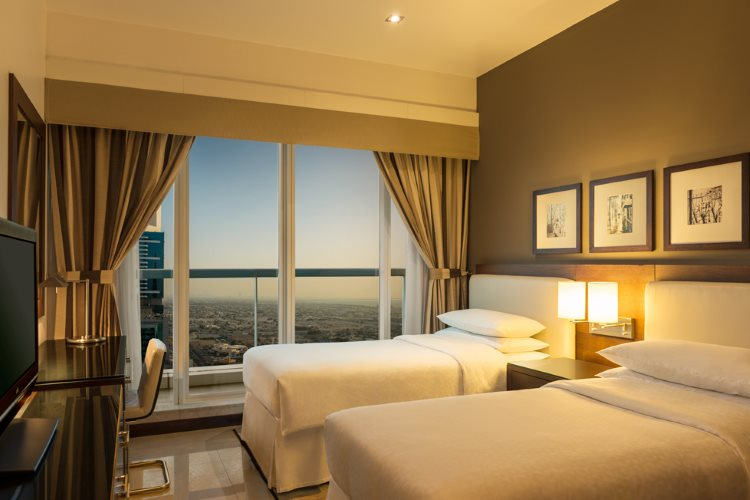 Four Points by Sheraton Sheikh Zayed Road - Appartement 3 chambres - Chambre Double