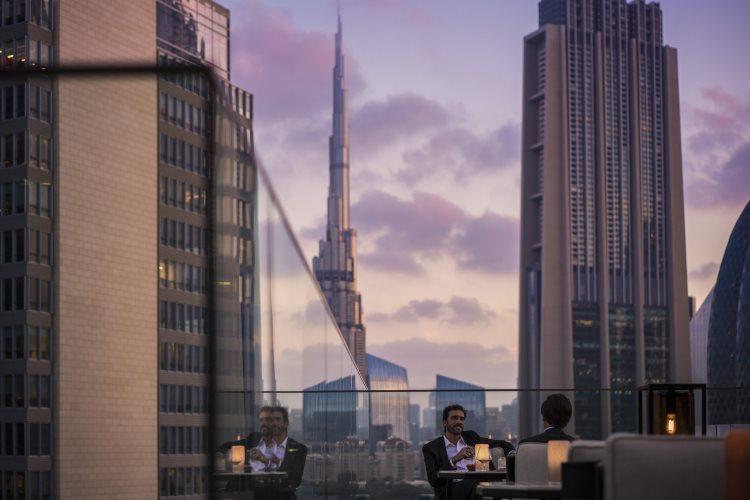 Four Seasons Dubaï DIFC - Luna Sky Bar