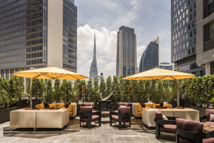 Four Seasons Dubaï DIFC - Penrose Lounge