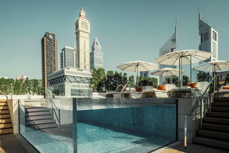 Four Seasons Dubaï DIFC - Piscine