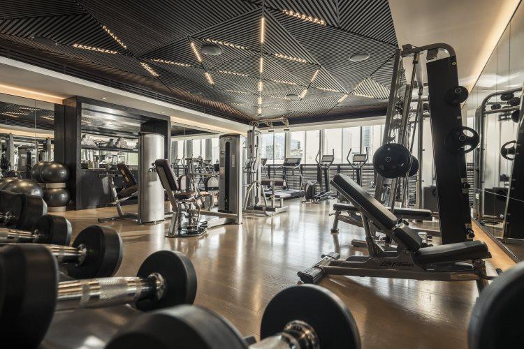 Four Seasons Dubaï DIFC - Salle de fitness