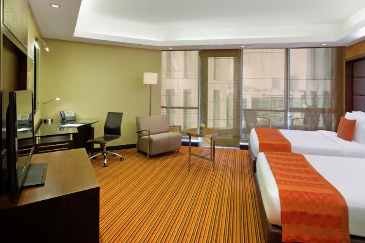 Radisson Blu Dubaï Media City - Chambre Business Class avec terrasse