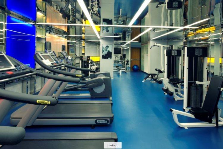 Radisson Blu Dubaï Media City - Salle de fitness