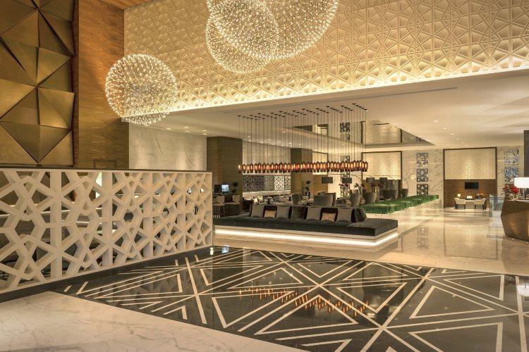 Sheraton Grand Hôtel Dubaï - Lobby