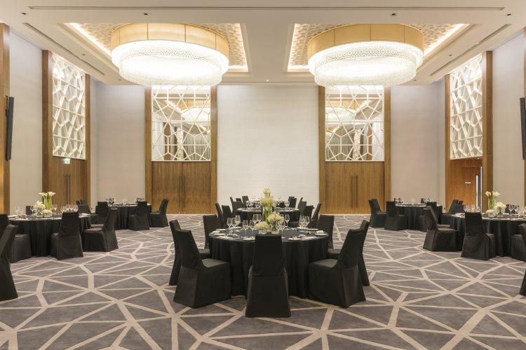 Sheraton Grand Hôtel Dubaï - Réception