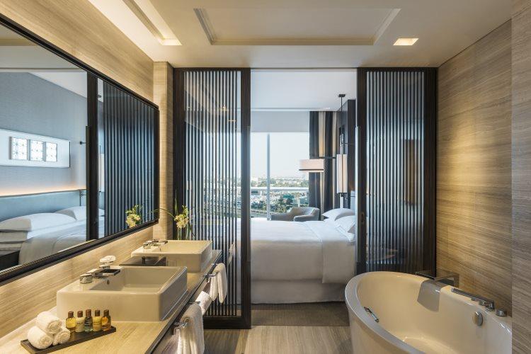 Sheraton Grand Hôtel Dubaï - Suite Deluxe - Salle de bains