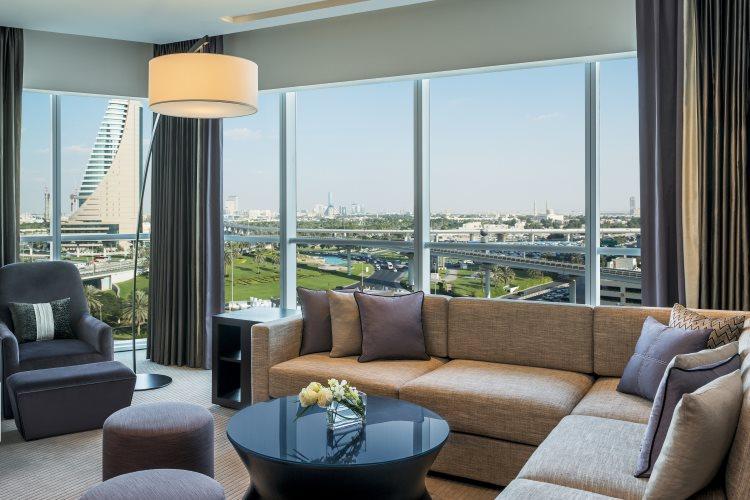 Sheraton Grand Hôtel Dubaï - Suite Deluxe - Salon