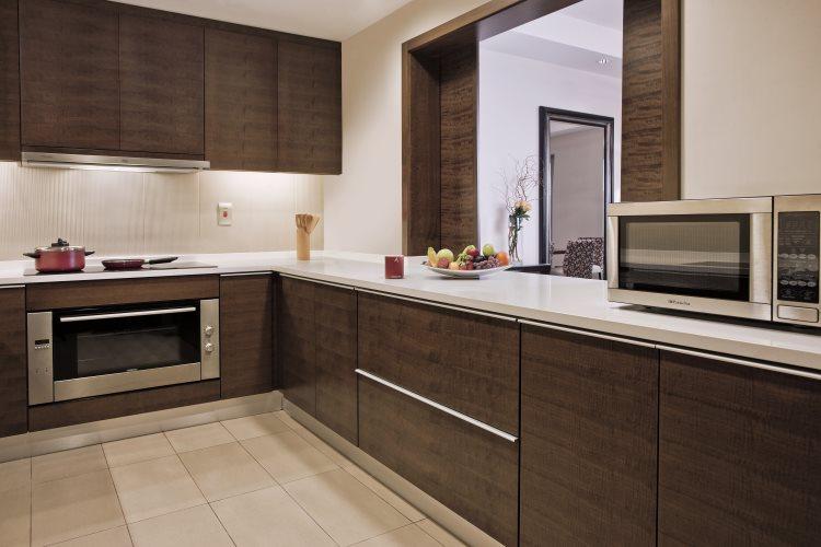 Al Ghurair Arjaan by Rotana - Appartement 3 chambres - Cuisine