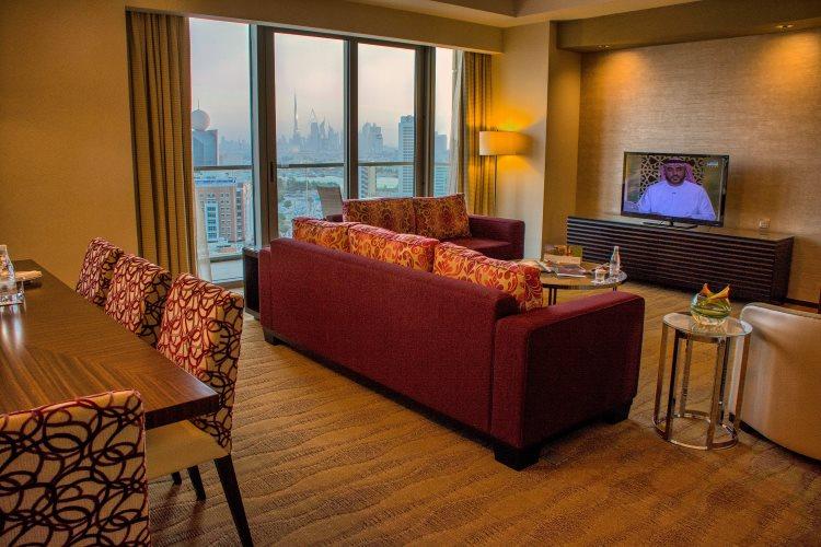 Al Ghurair Arjaan by Rotana - Appartement 3 chambres - Salon