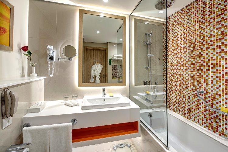 Al Khoory Atrium - Chambre Deluxe - Salle de bains