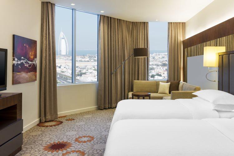 Sheraton Mall of Emirates - Chambre Deluxe
