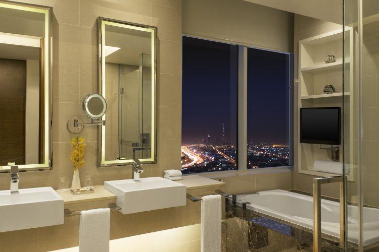 Sheraton Mall of Emirates - Suite Exécutive - Salle de bains