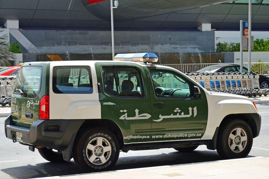 La police de Dubaï